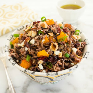 Harvest Wild Rice Salad with Maple Vinaigrette