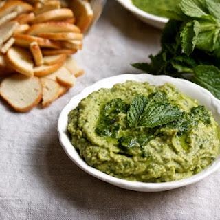 Herby Avocado Hummus.