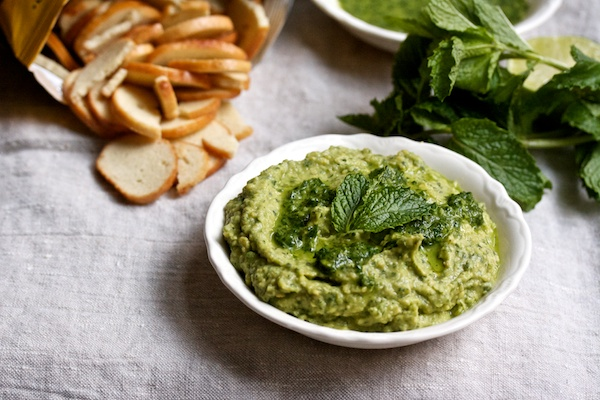 Herby Avocado Hummus Recipe