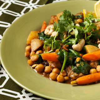 Potato-Chickpea Stew with Garam Masala & Lemon