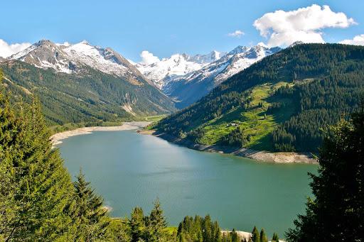 Durlassboden-Reservoir-Austria - Durlassboden reservoir in Tyrol, Austria.