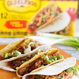 Honey Garlic Chicken Tacos.
