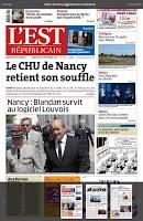 Screenshot of L'Est Républicain
