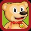 Mr Hooker Bear 字母泡泡中文版 icon