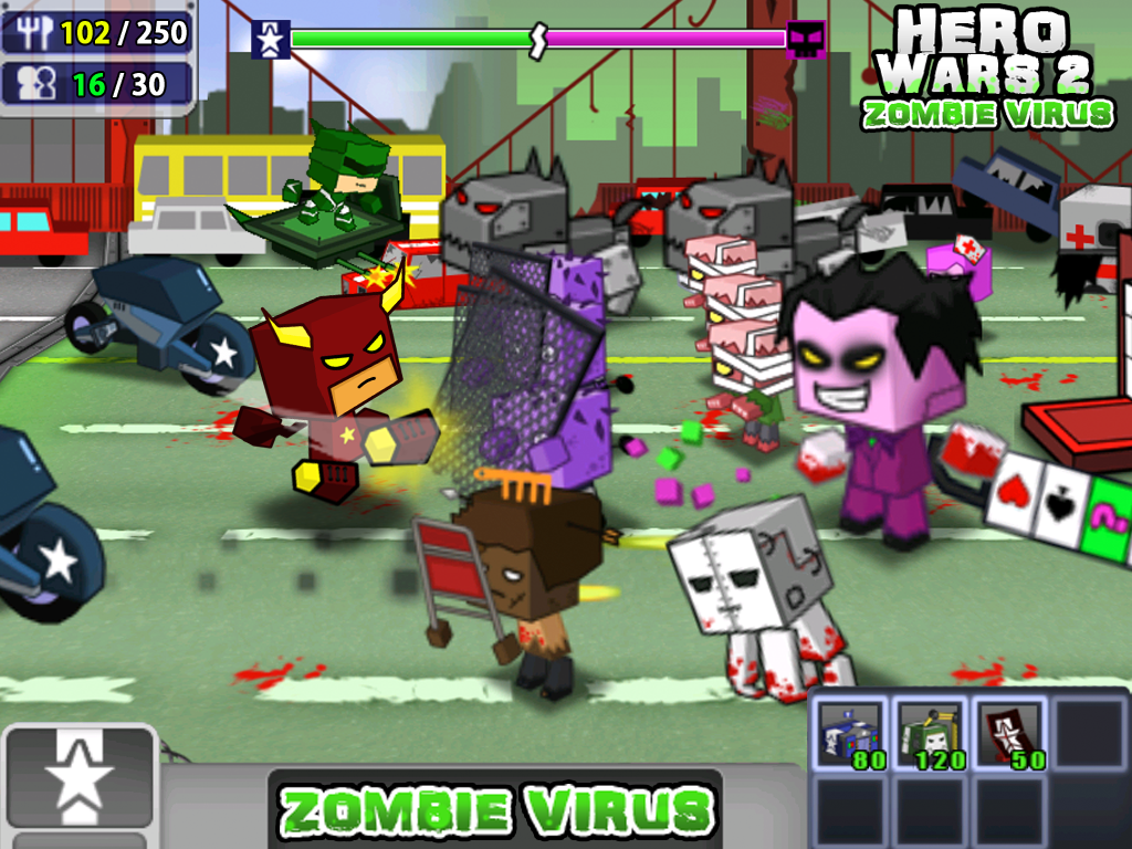 Hero Wars 2: Zombie Virus - screenshot