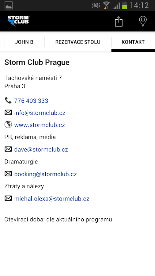 Storm club- screenshot