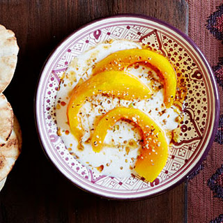Kabocha Squash with Dukkah and Cider Molasses