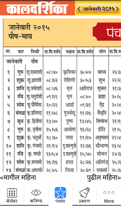 ... in marathi language this marathi calendar by lokmat media pvt ltd