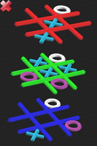 Tic Tac Toe 3D- screenshot
