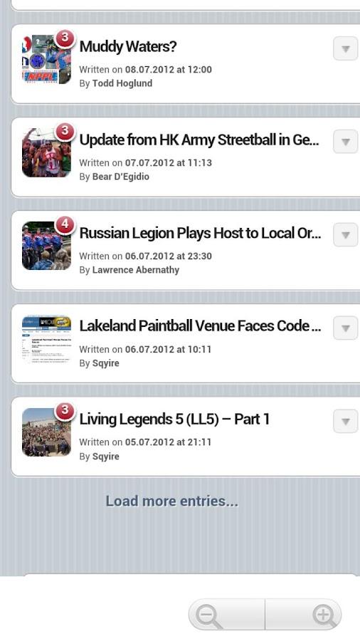 Social Paintball - screenshot