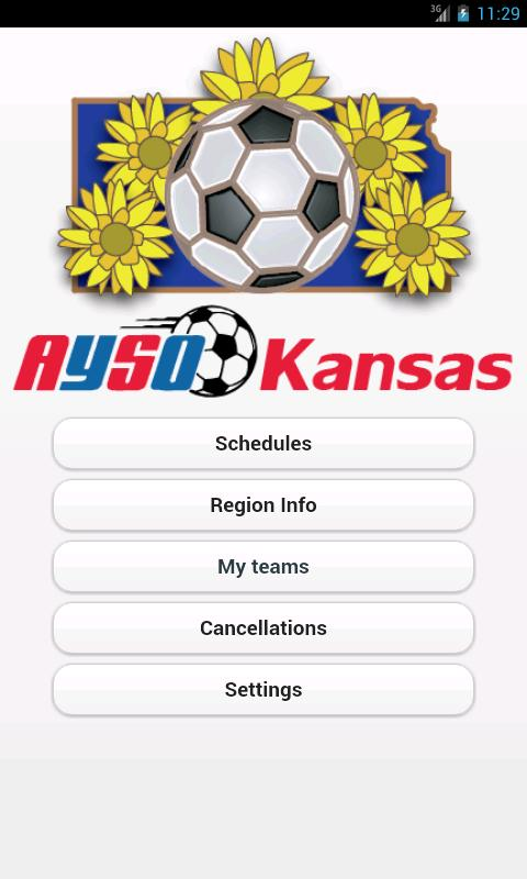 AYSO Kansas - screenshot