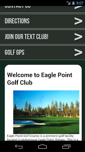 Eagle Point Golf