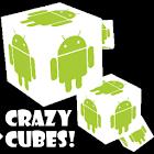 Crazy Cubes 3D! Live Wallpaper icon