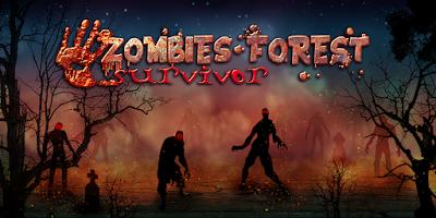 Screenshot of Survivor of Zombies Forest