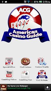 American casinos guide bill gambling internet said