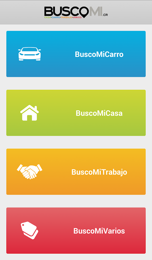 Buscomi.cr- screenshot