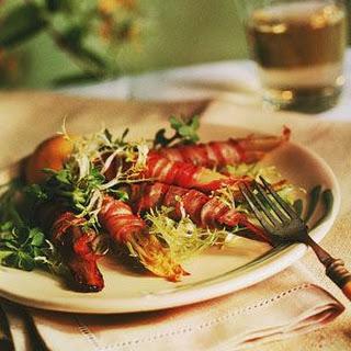 Warm Pancetta-Wrapped Endive Salad