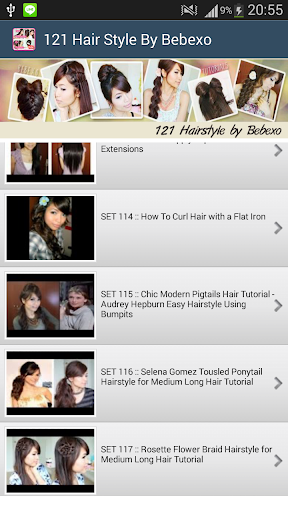 121 Hairstyle by Bebexo