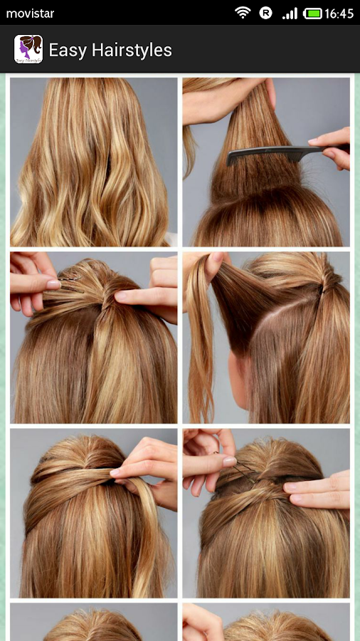 Easy Hairstyles(Step by Step) - Android Apps on Google Play