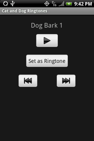 CAT and DOG Ringtones - screenshot