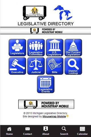 Michigan Legislative App