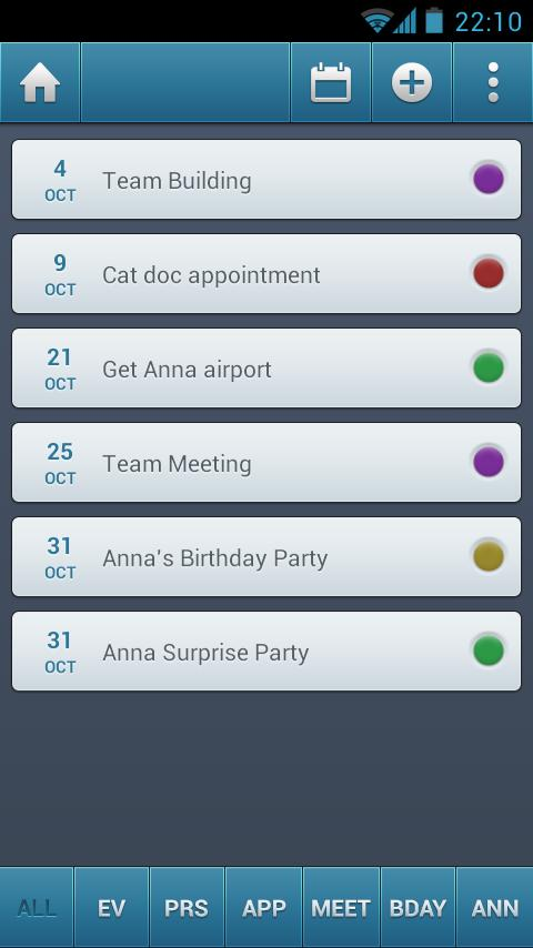 Simple Organizer Pro- screenshot