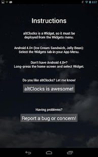 altClocks Analog Clock Widgets - screenshot thumbnail