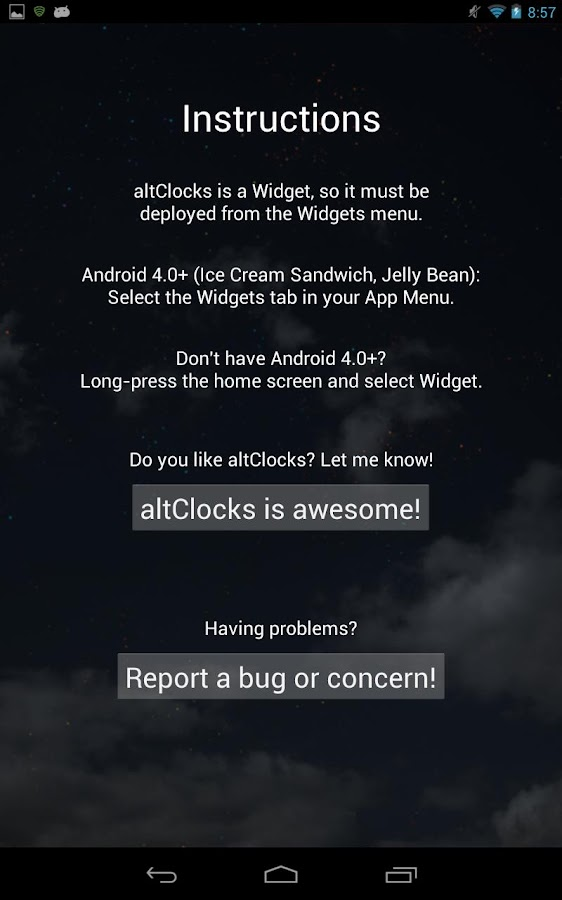 altClocks Analog Clock Widgets - screenshot