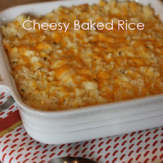 Cheesy Baked Rice Recipe