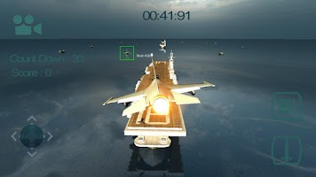 Screenshot of Sea Jet Fighter