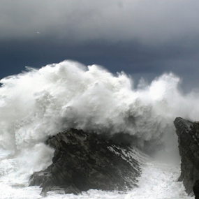 BEAUTY OF THE OCEAN by Bill Waterman - Landscapes Beaches ( waves, ocean, landscape, storm, rocks,  )