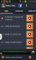 Screenshot of Opera Radio