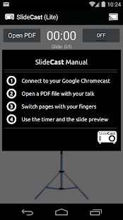 SlideCast (Chromecast)- screenshot thumbnail