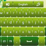 GO Keyboard Green Flowers 3.1 Apk