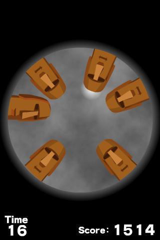 Juggling Moai- screenshot