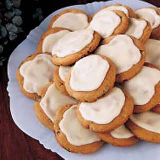Frosted Spice Cookies.
