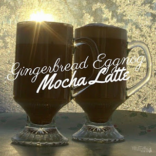 Gingerbread Eggnog Mocha Latte
