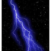 Live Wallpaper:Lightning/Space
