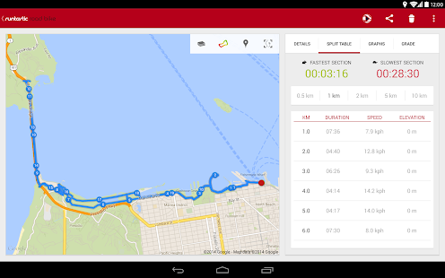 Runtastic Road Bike Tracker Screenshot 16