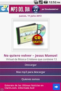 Música Cristiana en MP3 - screenshot thumbnail