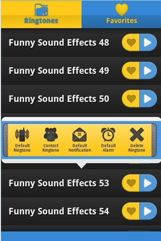 Funny Sound Effects Ringtones - screenshot