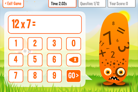 Squeebles Times Tables 2- screenshot thumbnail