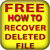 Recover deleted file for free