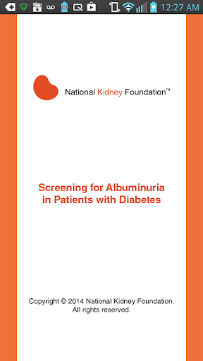 Screening for Albuminuria