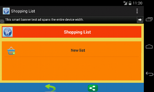 식료품 쇼핑 목록