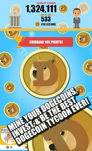 Dogecoin Miner: Clicker Empire