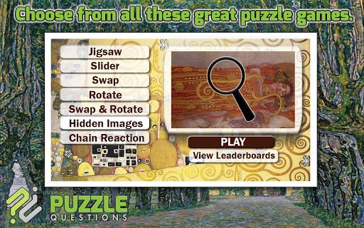 Free Gustav Klimt Puzzles