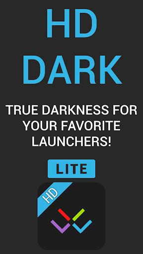 HD Dark Free - Icon Pack