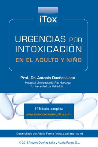 iTox Urgencias intoxicación- screenshot