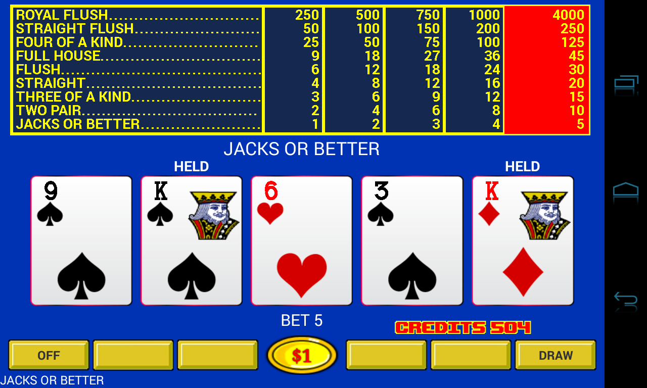 Video Poker - Original Games! - screenshot